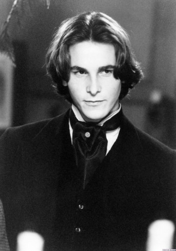 Christian Bale as Laurie in  the 1994 adaptation of Little Women